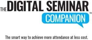 Digital Seminar Companion tagline